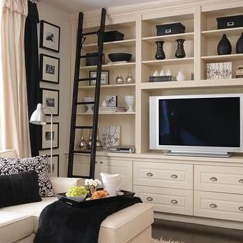 Built In Entertainment Center, Traditional, media room, House & Home