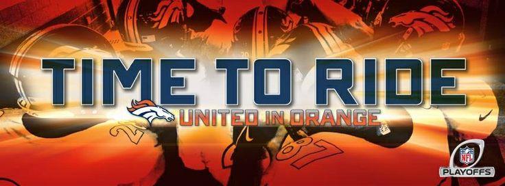 Let's go Broncos! #playoffs