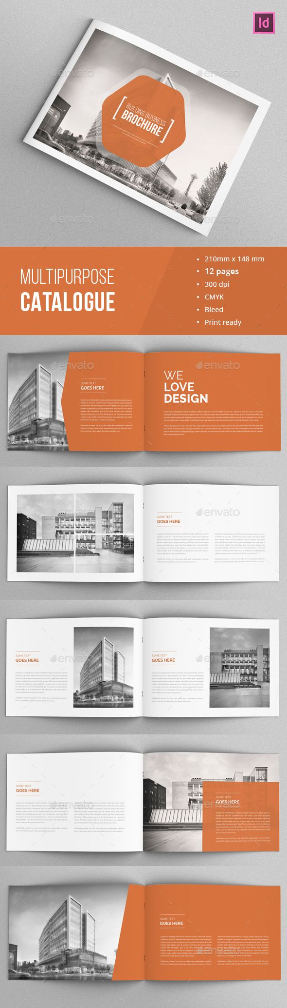 InDesign  Corporate Brochure / Portfolio  Template • Click here to download ! http://graphicriver.net/item/corporate-brochure-portfolio/15367430?ref=pxcr