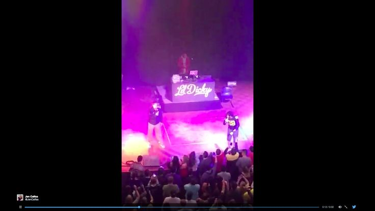 JIM HARBAUGH WENT ONSTAGE AT A LIL DICKY CONCERT TO SING THE NATIONAL ANTHEM - SBNation.com