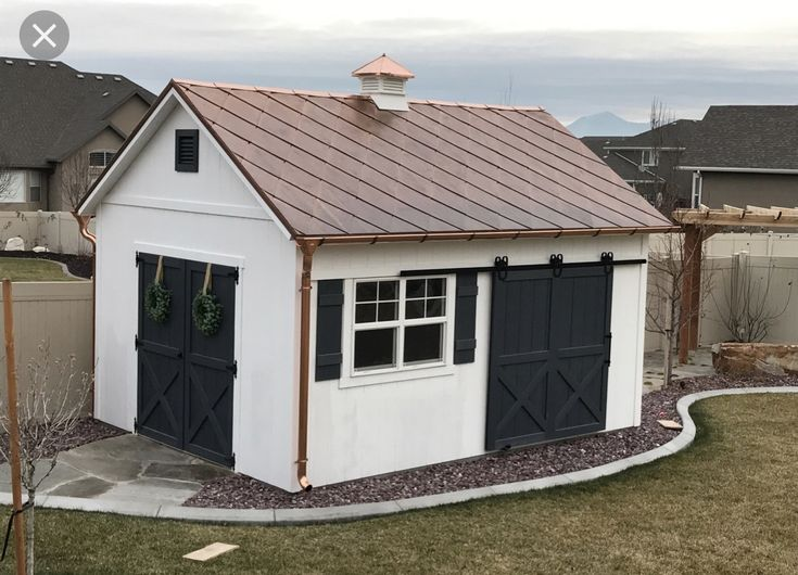House Exterior Image By Christina Gesser Copper Roof Metal Roof Roof Shingles
