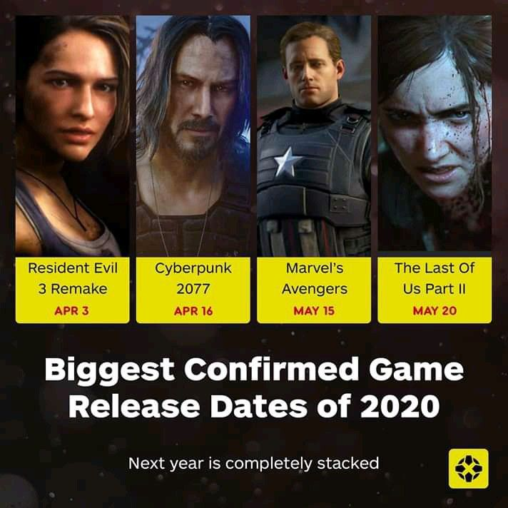 Best Games Coming Out 2020 Game Release Dates Games Resident Evil