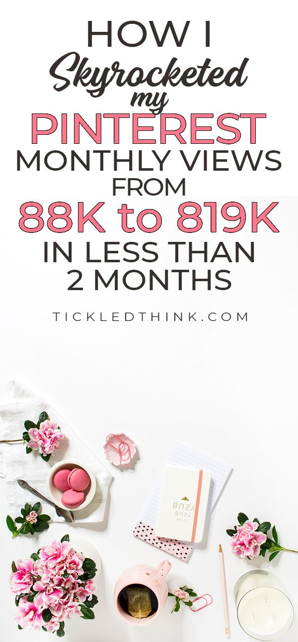 Check out this post to learn how you can utilize Pinterest to drive more traffic to your blog. This post will show you how we skyrocketed our monthly viewers in less than two months. We will show you our personal Pinterest strategy to help you improve your Pinterest game! #blogging #bloggingtips #howtoblog #pintereststrategy