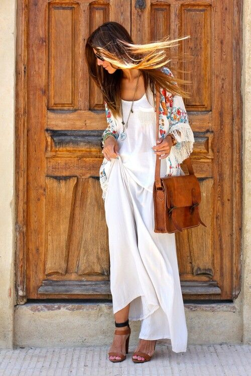 Boho outdoor party outfit
