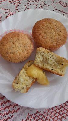 Mákos-citromos muffin