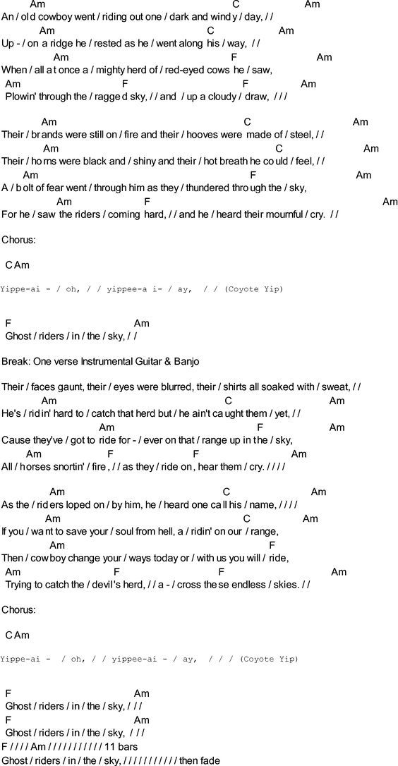 52 Best Americana Chordslyrics Images On Pinterest Guitar Chord