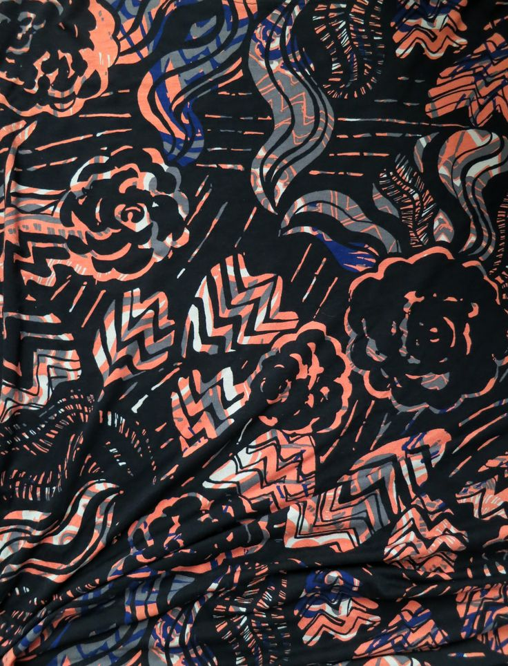 Piennar. Textile surface pattern design for Nanso 2017.