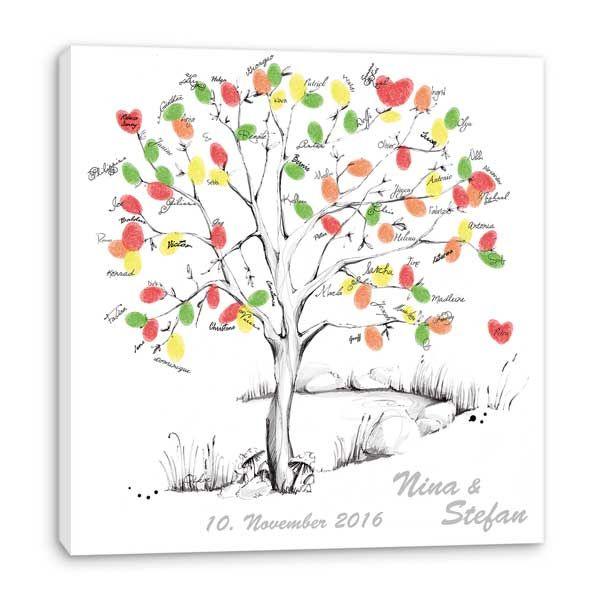Fingerabdruck Baum