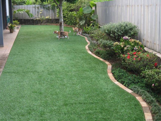 Simple Backyard Landscaping Ideas : Backyards, Backyard landscaping and Landscaping on Pinterest