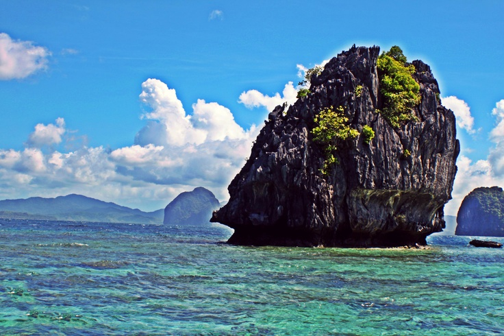 Love the lanscape from El Nido!