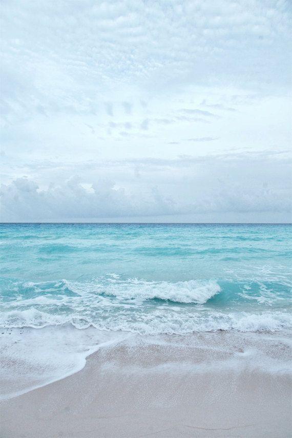 Plage Ocean mer l'été la photographie Aqua Blue par JarrodCorbett