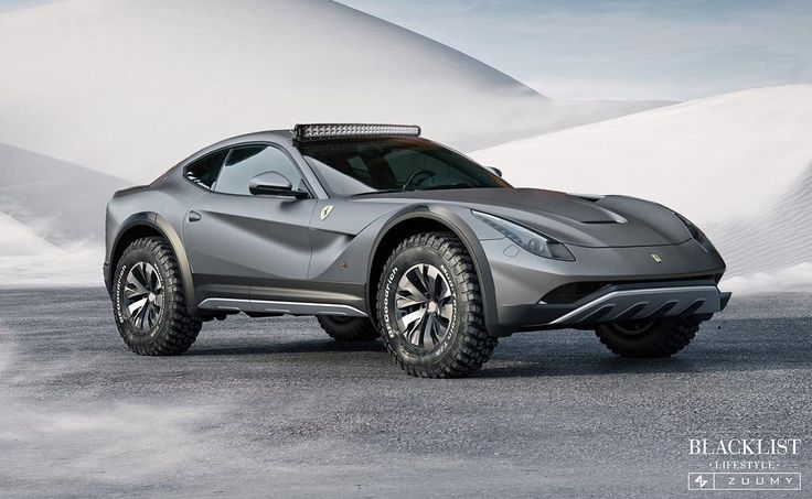 4x4 F12 Or Design By zuumy blacklist ferrari f12 4x4