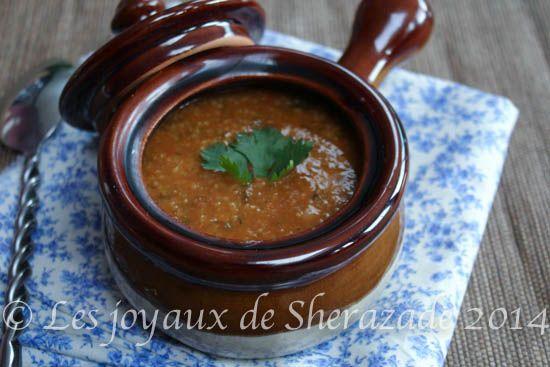 chorba frik  Recette de chorba frik Voilà la recette de la délicieuse chorba frik شربة فريك , la soupe traditionnelle algériennepar excellence. Cho