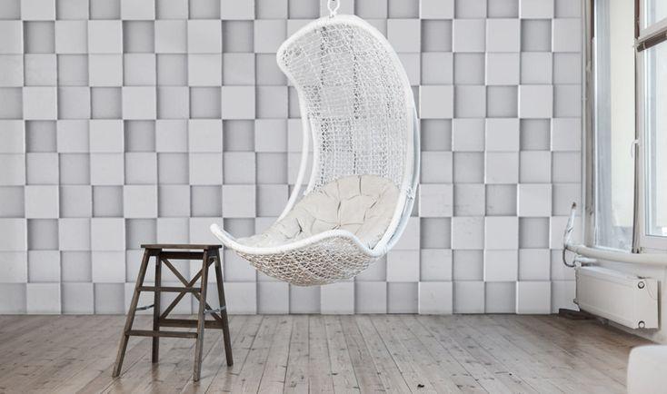 Rubik / artpanel / panel dekoracyjny 3D / panel dekoracyjny w salonie