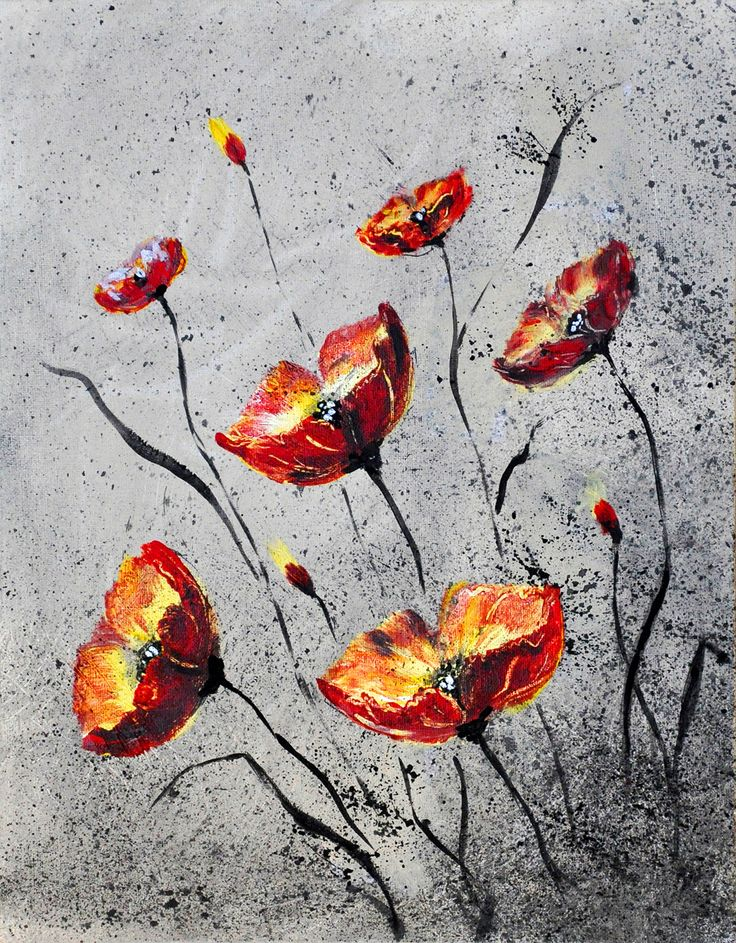 POPPIES II BY TATIANA LOPATINA.  VISIT OUR WEBSITE FOR MORE GREAT IMAGES www.lailas.com