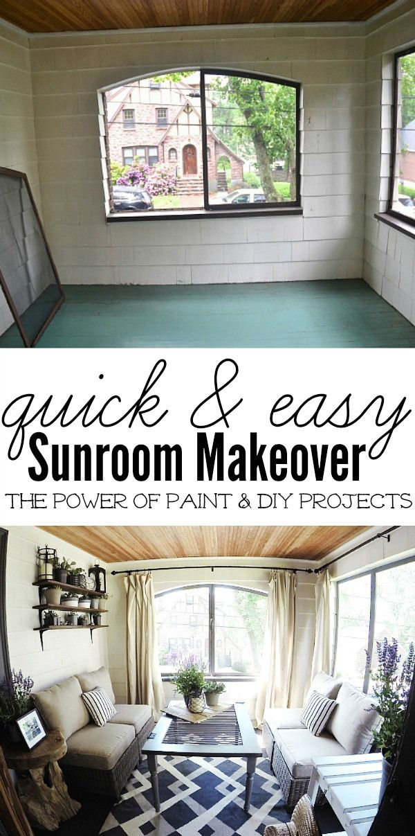 Boston Sunroom Makeover with Lowes -