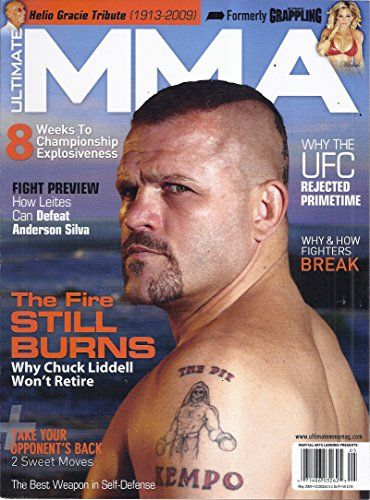 Ultimate MMA Magazine (May 2009 - Cover: Chuck Liddell - Martial Arts Legends Presents)