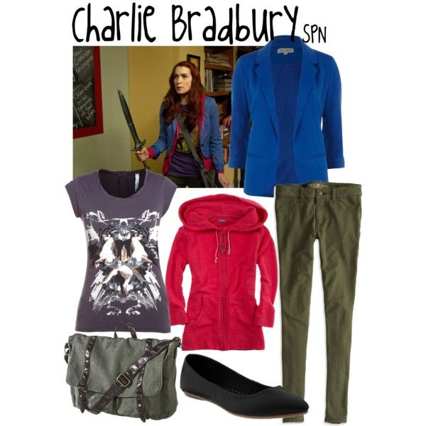 """Charlie Bradbury"" by evil-laugh on Polyvore"