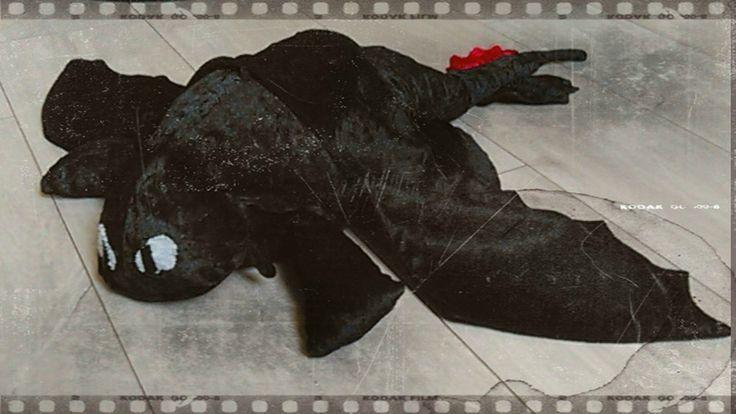 Peluche Krokmou - www.monbookcouture.canalblog.com