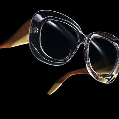 Momist : Luxury Guide: Norum 1958 crystal cotton acetate sunglasses by Oliver Goldsmith