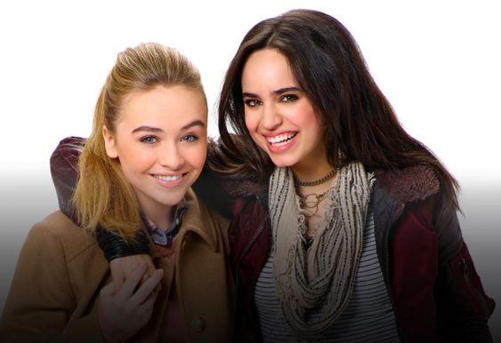 Sabrina Carpenter and Sofia Carson in Adventures in Babysitting ♡