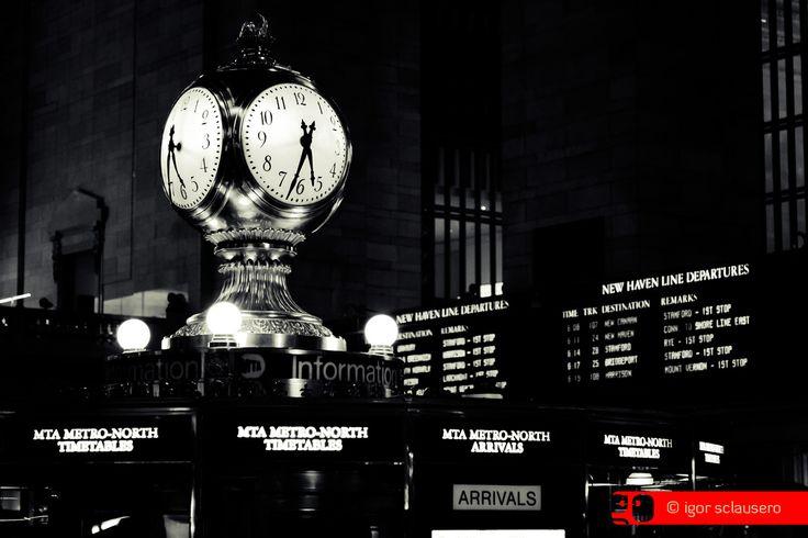 take your time  © Igor Sclausero #manhattan #newyork