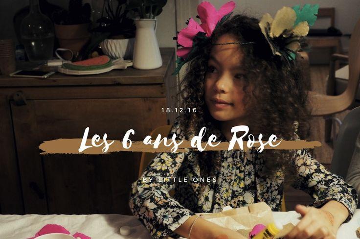 Les 6 ans de Rose ♡ 18.12.16 #tropicalparty