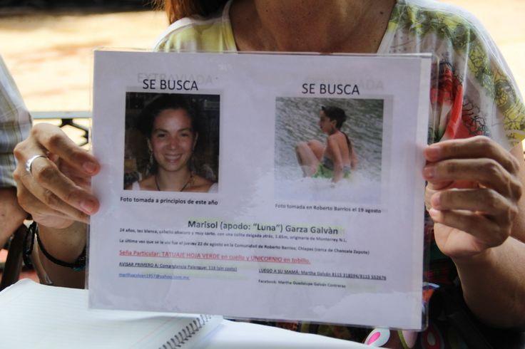 #BuscandoaMARISOL Sigue búsqueda de la regiomontana Marisol Garza Galván en #Chiapas en http://www.vox.com.mx/2013/10/sigue-busqueda-de-la-regiomontana-marisol-en-chiapas #MtyFollow #Desaparecida #SeBusca