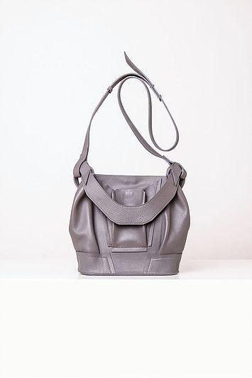 Linda Sieto / Soft Edge Part II./ FW16/17 - Mini Plisse Bucket Bag