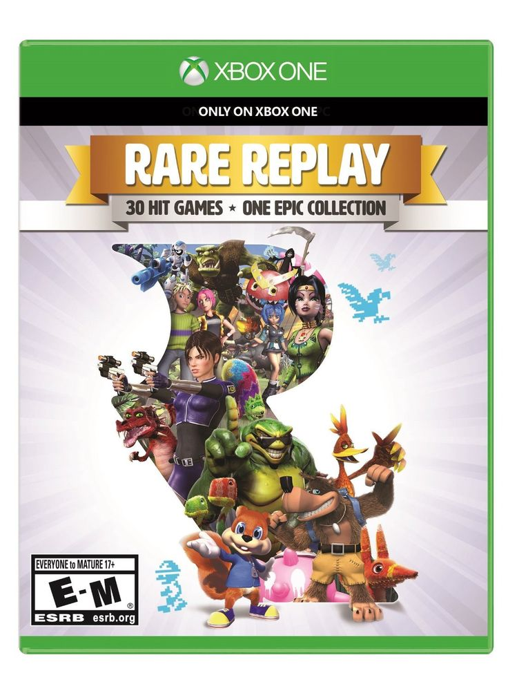 91 best xbox one games images on pinterest videogames video games rare replay xbox one physical game disc us fandeluxe Gallery