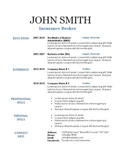 101 free printable resume templates that can be edited in word instant download