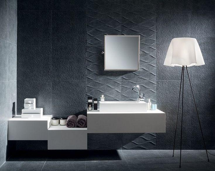 Badezimmer Mit Fliesen In Betonoptik Verlegen