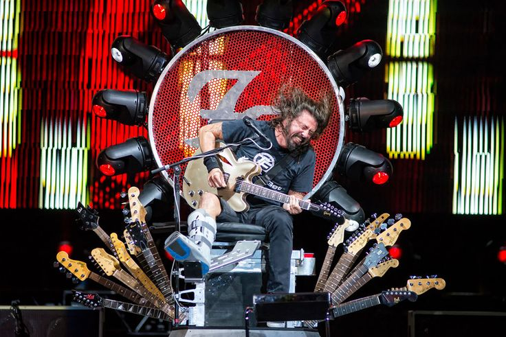 Dave Grohl of Foo Fighters Photo by © Todd Morgan