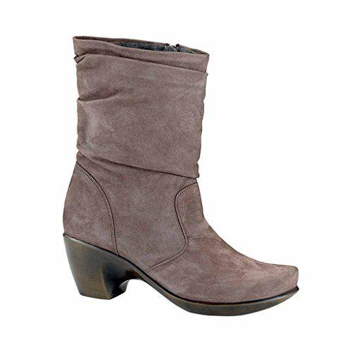 Naot Women's Modesto Slouch Boot, Shiitake Nubuck, 36 EU/5 M US * Want additional info? Click on the image.