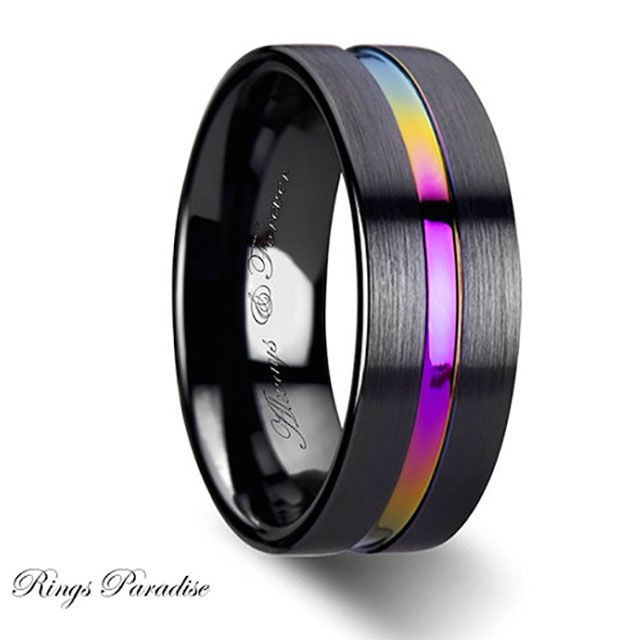 Best 25+ Gay wedding rings ideas on Pinterest | Gay men weddings ...
