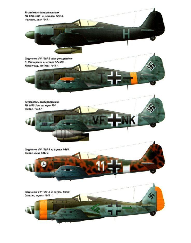 Focke-Wulf Fw 190/Ta 152 Colours II
