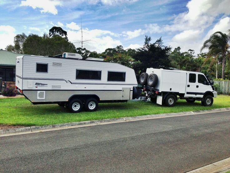 Iveco Truck And Bushtracker Off Road Caravan Australia Offroad Overland Vehicles Trucks