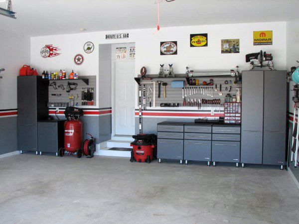 50 Garage Paint Ideas For Men   Masculine Wall Colors And Themes. Best 25  Garage paint colors ideas on Pinterest   Painted garage