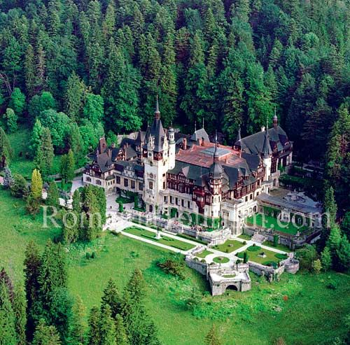 Peles Castle; Sinaia, Romania (close to Brasov)