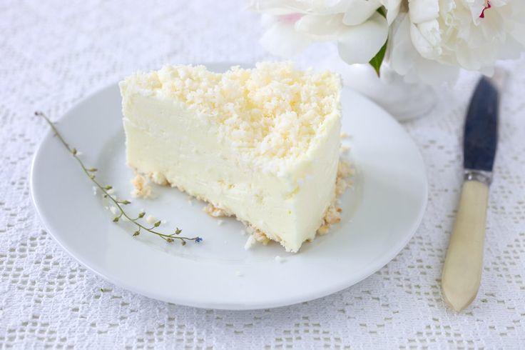 Le dessert du jour: le cheesecake à la noix de coco!