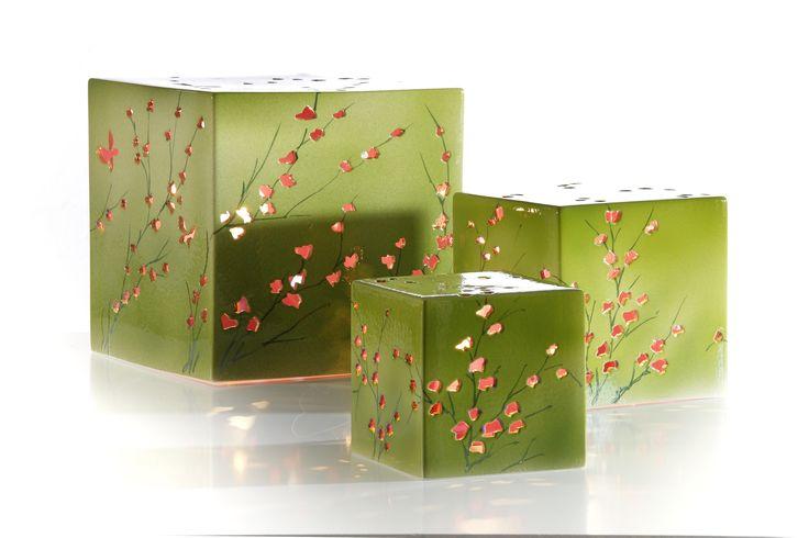 Hand gemaakte keramische lampen in verschillende vormen en kleuren