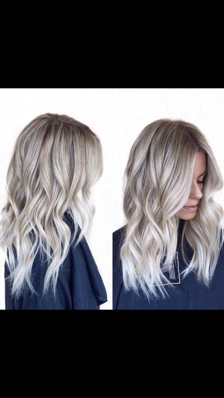 Ash blonde soft balyage                                                                                                                                                                                 More
