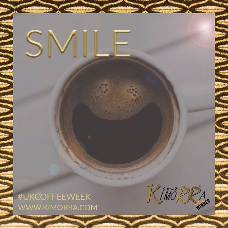 There are two reasons to smile as you enjoy your coffee this morning - it's #UKcoffeeweek so you can have as many coffees as you like and…