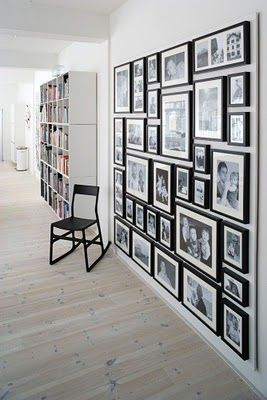 this week on pinterest: gallery walls                                                                                                                                                                                 More