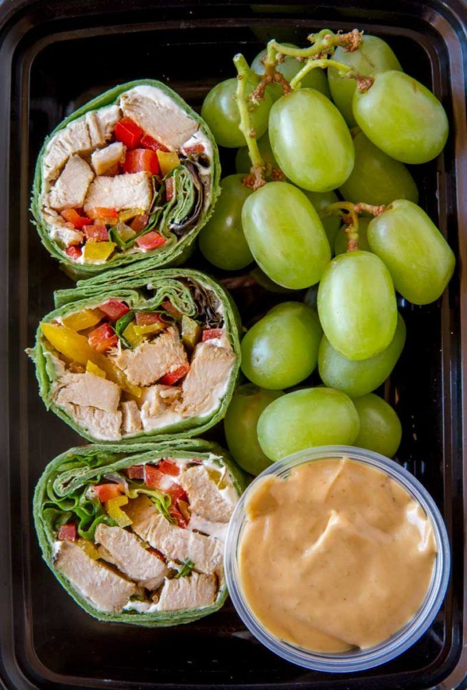 Just like your favorite Starbucks Protein Box, these Thai Peanut Chicken Wraps are an easy and delicious lunch!