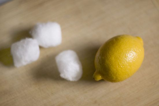 lemon and cotton balls to keep fridge odors away - uses of lemons