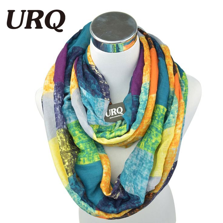 2016 New Tube Scarves Warm For Women Fahion Design Plaid lady Ring Scarfs Infinity Scarf Tube V8A18430 *** Click the VISIT button to enter the website
