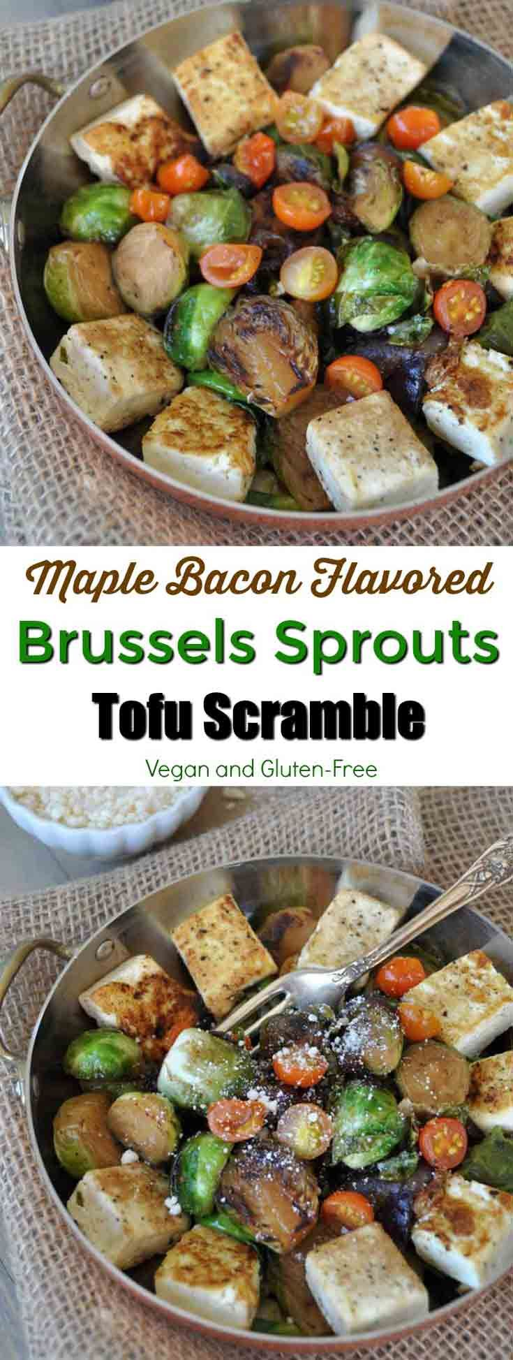 ... flavored roasted Brussels sprouts and tofu! The perfect breakfast