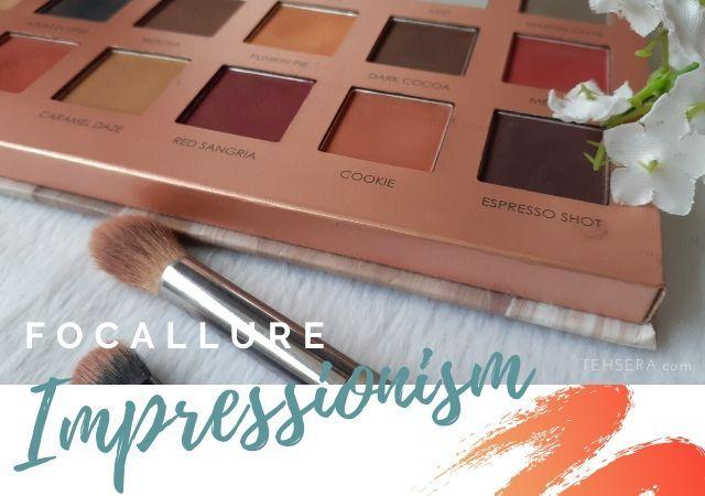 Review Focallure Eyeshadow Impressionism Pallete 18 Warna Celak Mata Sangria Eye Shadow