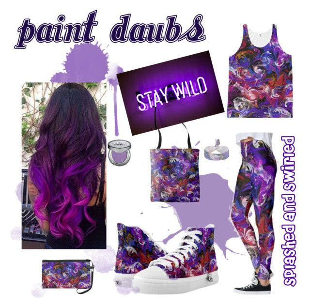 """""""Paint Daubs"""" by mannzie on Polyvore featuring Urban Decay, paint and fashionset"""